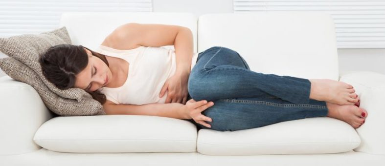 regelschmerzen - Regelschmerzen der Frau