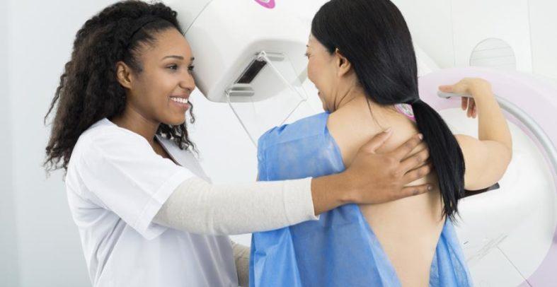mammographie - Mammographie - Teil der Brustkrebs-Vorsorgeuntersuchung