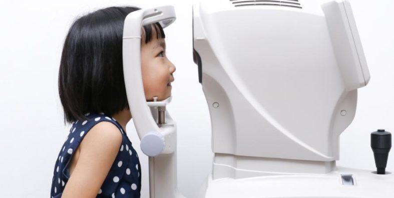 refraktometer - Refraktometer - Untersuchung beim Augenarzt