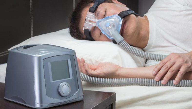 schlafapnoe - Schlafapnoe-Untersuchung bei Atemstillstand im Schlaf