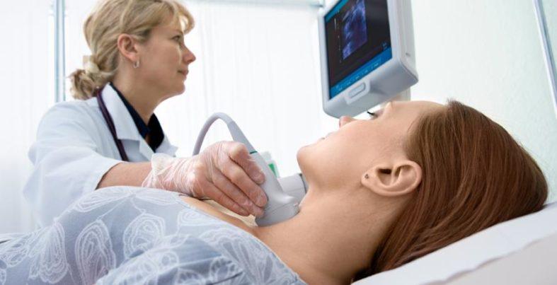 szintigrapfie - Szintigrafie - Untersuchungen der Schilddrüße