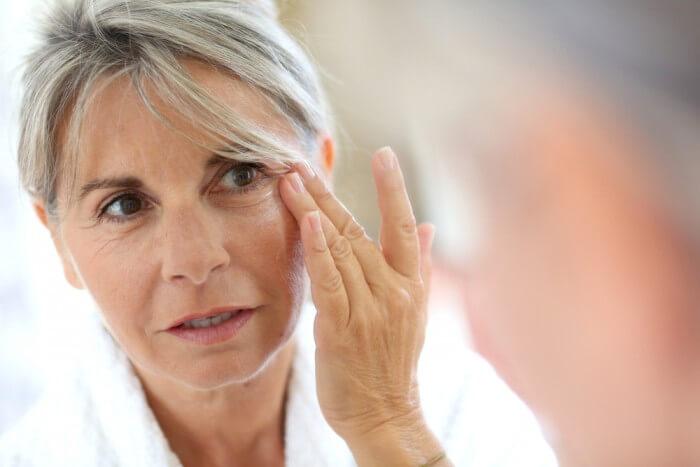 Augenringe beseitigen