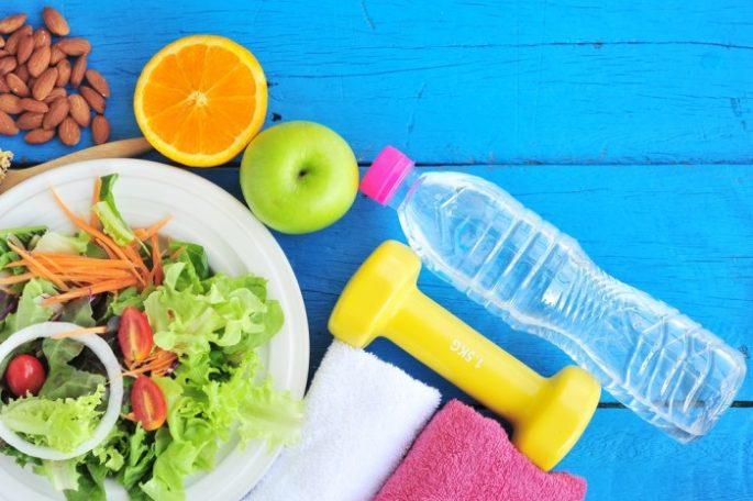 Diät mit Sport unterstützen