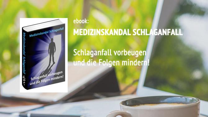Buch: Medizinskandal Schlaganfall