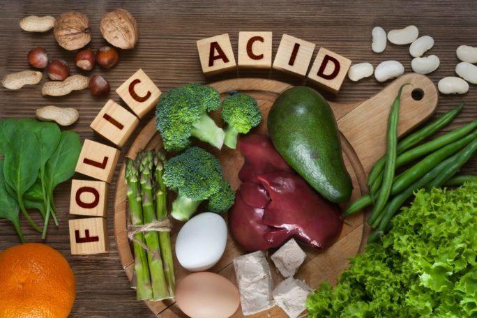 Folsäure in Lebensmitteln